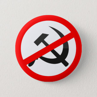 Anti-Communism 6 Cm Round Badge