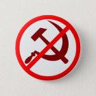 Anti-Communist 6 Cm Round Badge