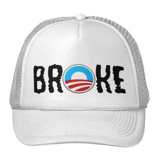 Anti debt anti Obama Hat