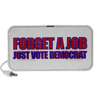 Anti Democrat Political Doodle Notebook Speaker