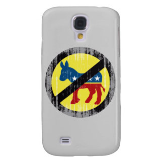 Anti-Democrat yellow Faded.png Samsung Galaxy S4 Case