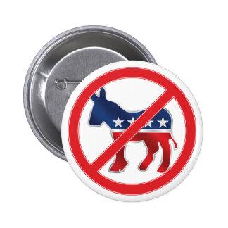 Anti-Democratic Round Button