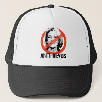 Anti-Devos Trucker Hat
