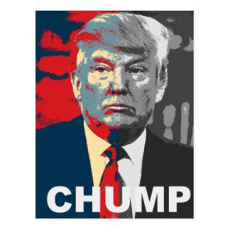 Anti Donald Trump Campaign | Chump 2016 Postcard