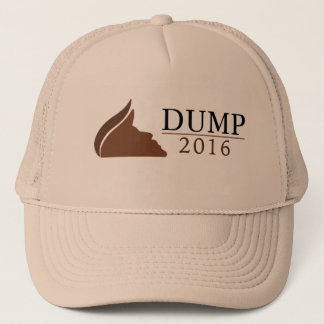 Anti-Donald Trump Trucker Hat (Dump | 2016)
