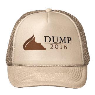 Anti-Donald Trump Trucker Hat (Dump | 2016)
