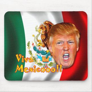 Anti-Donald Trump ViVa Mexico mouse pad. Mouse Mat