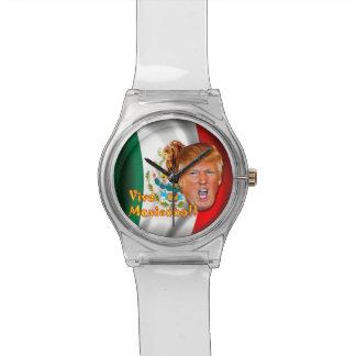 Anti-Donald Trump Viva Mexico wrist watch. Watch