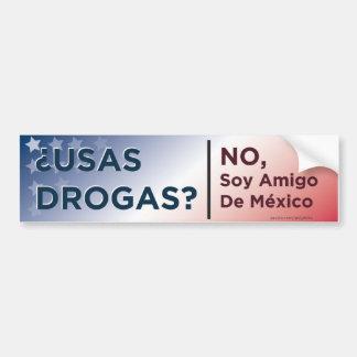 Anti-Drug bumper sticker