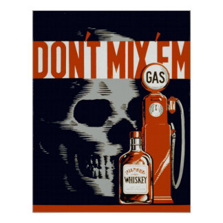 Anti Drunk Driving Poster