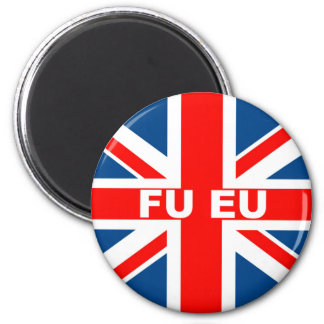 Anti EU British flag Magnets