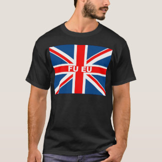 Anti EU British flag T-Shirt