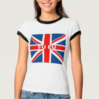 Anti EU British flag T-Shirt