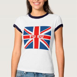 Anti EU British flag Tee Shirt
