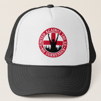 Anti EU England - No Surrender Trucker Hat