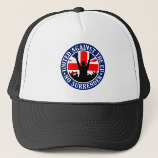 Anti EU Great Britain - No Surrender Trucker Hat