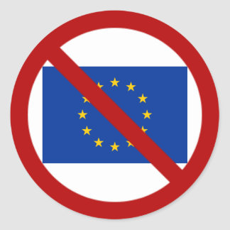 Anti EU sticker