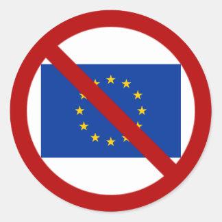 Anti EU sticker
