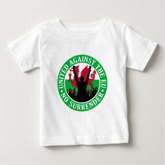 Anti EU Wales - No Surrender Baby T-Shirt