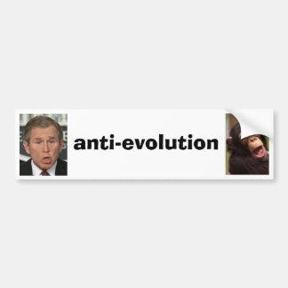 Anti-Evolution Bumper Sticker