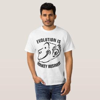 ANTI-EVOLUTION Christian t-shirts, MONKEY BUSINESS T-Shirt