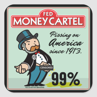 Anti Federal Reserve Sticker Set