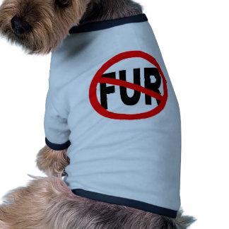 Anti Fur Design Doggie T-shirt