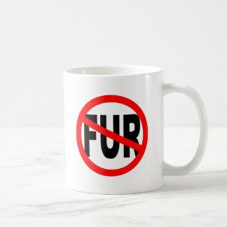 Anti Fur Design Basic White Mug