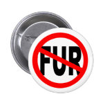 Anti Fur Design Pins
