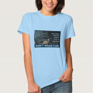 Anti -Fur T Shirts