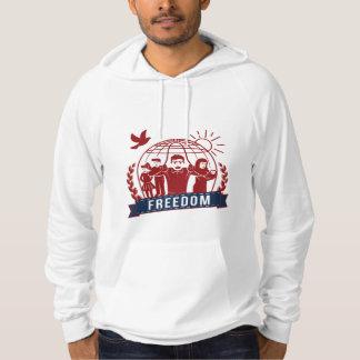 ANTI-GLOBALISM/FREEDOM - England, USA Hoodie