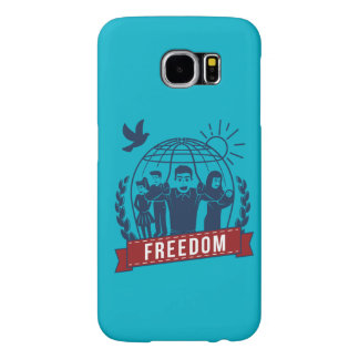ANTI-GLOBALISM/FREEDOM - England, USA Samsung Galaxy S6 Cases