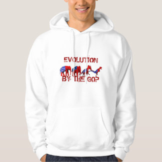 Anti-GOP Anti-Republican Evolution Satire Sweatshirts