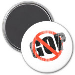 ANTI-GOP Faded.png Refrigerator Magnets