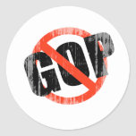 ANTI GOP Faded.png Sticker