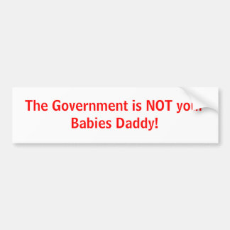 Anti Government Bumper Stickers