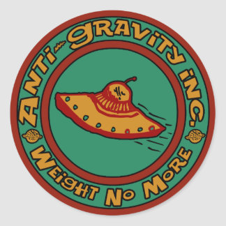Anti-Gravity, Inc. Classic Round Sticker