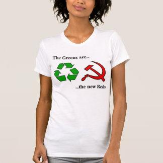 Anti Green Tee Shirts