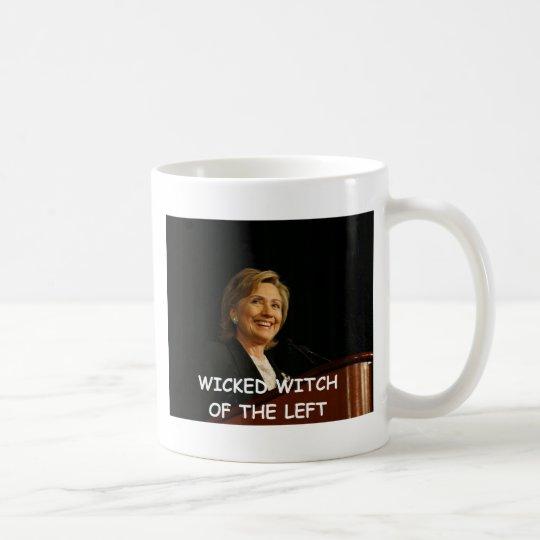 anti hillary clinton coffee mug