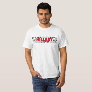 Anti Hillary Clinton T-Shirt