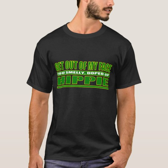 Anti Hippie Dark T-shirt