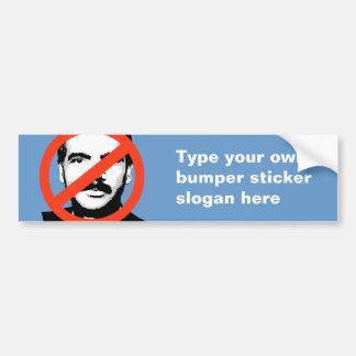 ANTI-HOLDER: ANTI-Eric Holder Bumper Sticker