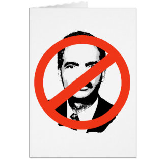 ANTI-HOLDER: ANTI-Eric Holder Greeting Cards