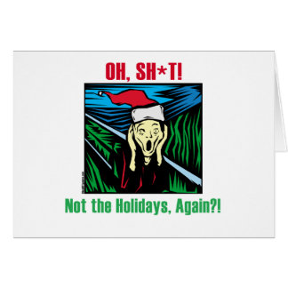 Anti Holiday Gifts Greeting Card