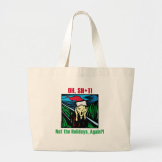 Anti Holiday Gifts Jumbo Tote Bag