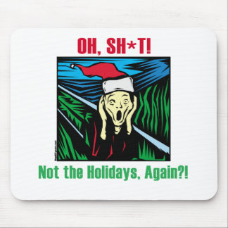 Anti Holiday Gifts Mousepads