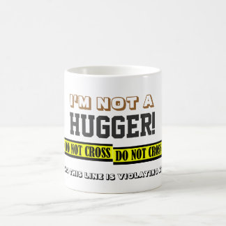 Anti-Hugs Coffee Mug