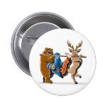 Anti Hunting Animal Revenge Badges