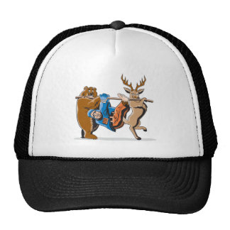 Anti Hunting Animal Revenge Cap