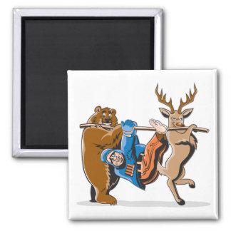 Anti Hunting Animal Revenge Fridge Magnet